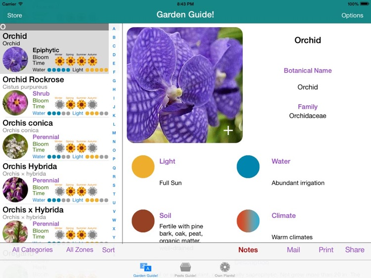 Garden Guide HD! screenshot-2