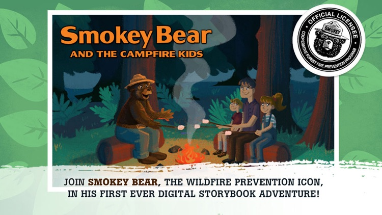 Smokey Bear and the Campfire Kids Book