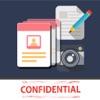 私人照片和联系人 - 锁图片和笔记