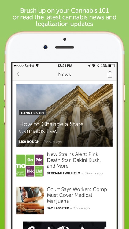 Leafly: Marijuana Reviews screenshot-4