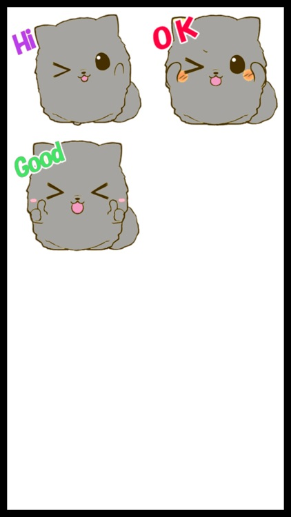 Fluffy Kitty 2 Stickers screenshot-4