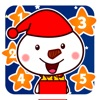雪宝宝数星星-1岁-2岁宝宝学数字游戏