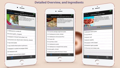 Screenshot for All SeaFood Recipes in Lebanon App Store
