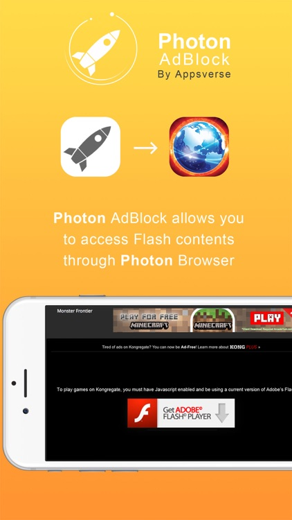 Photon Ad Blocker for Private Secret Browser App screenshot-3