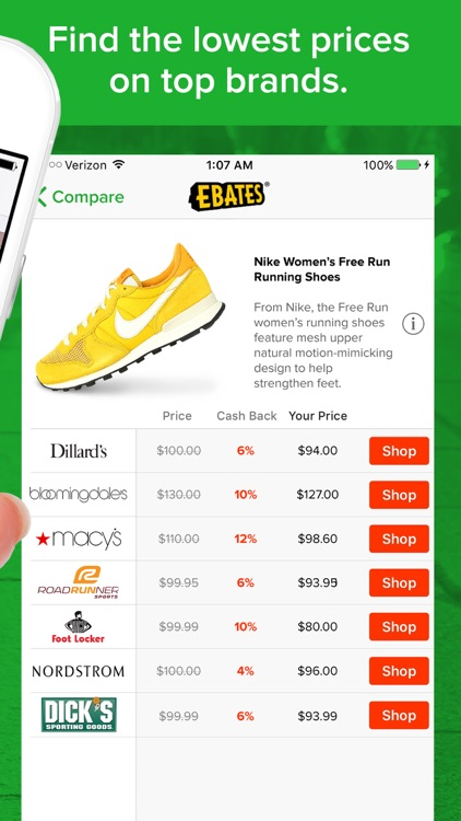 Ebates: Shop & Save with Cash Back Deals & Coupons