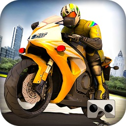 VR Highway Drag Moto Racer - Racing Simulator 2017