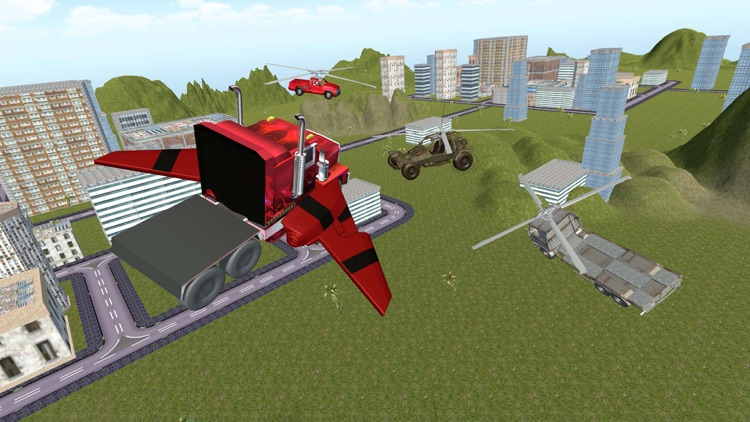 Flying Truck Future Car Games