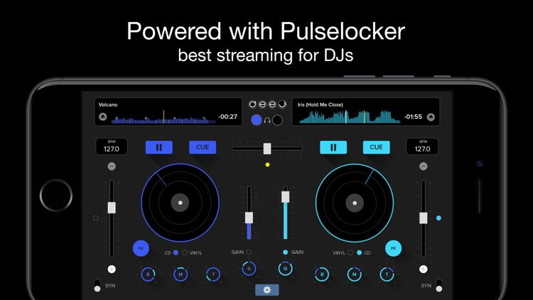 deej - DJ turntable. Mix, record, share your music screenshot-0