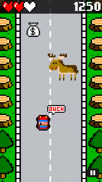 Drive and Jump: 8-bit retro racing action