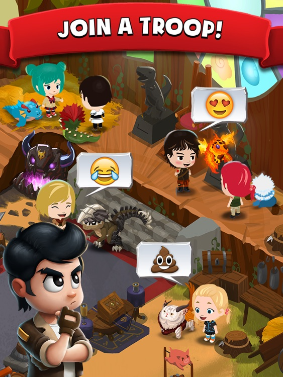 Battle Camp HD - Collect & Evolve Your Monsters screenshot-4