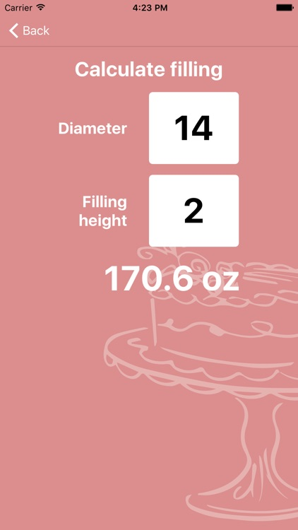 Cake Calculator Pro screenshot-4