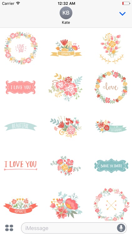 A Very Romantic Sticker Pack