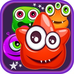 Candy Monster Match Three Quest