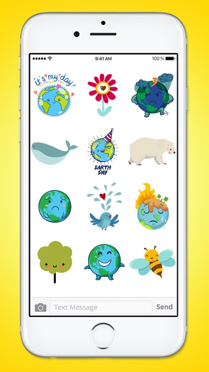 The Cutest Earth Day Sticker Pack screenshot-4