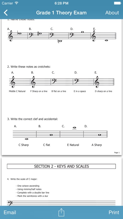 Music Resources - Theory, Worksheets & Flashcards