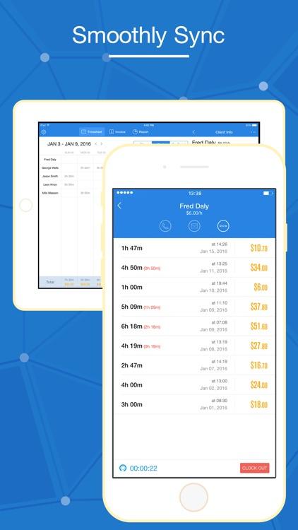 Hours Keeper Pro - Timesheet, Tracking & Billing screenshot-4