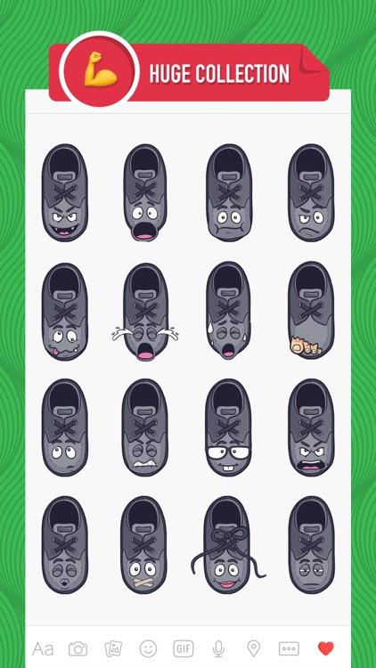 ShoeMoji - shoe emojis & stickers keyboard app