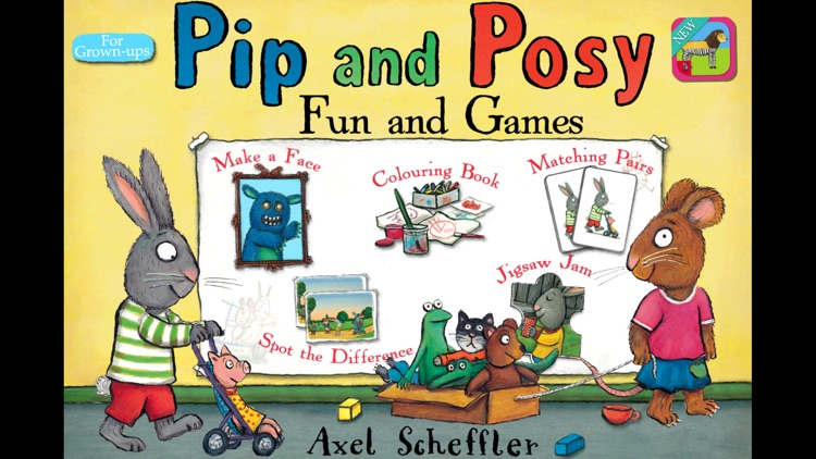 Pip and Posy: Fun and Games screenshot-0