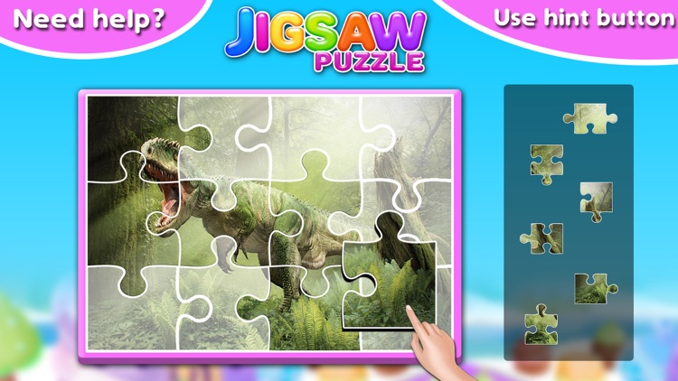 Little Dino Jigsaw Puzzle - Fun and Educational screenshot-3