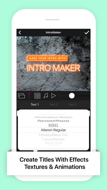 Intro Movie Maker Lite with Video Music for iMovie app image