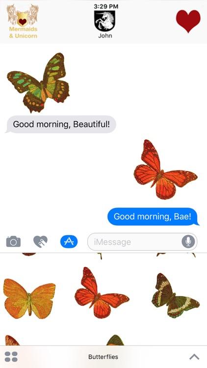 Butterflies - Glittered Stickers