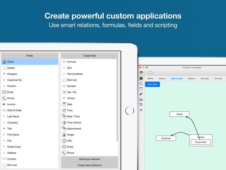Ninox Database for iPad screenshot-4