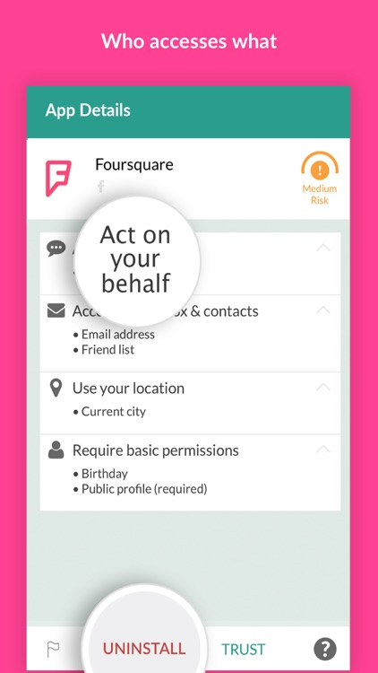 MyPermissions Privacy Cleaner screenshot-3