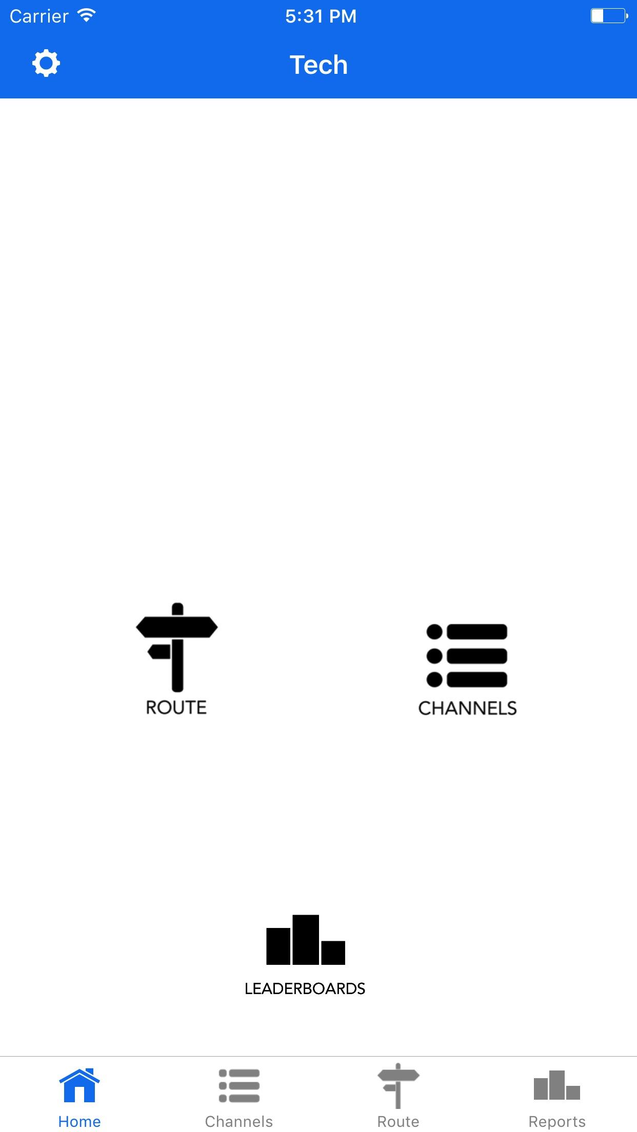 TechRabbit - Satellite TV Screenshot