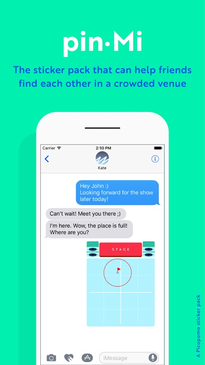 pin·Mi stickers - your friends in the crowd