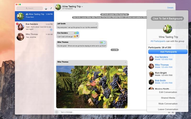 Message  Screenshot