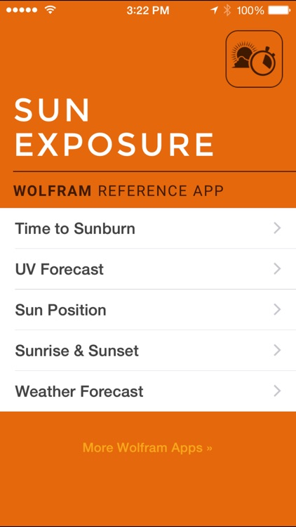 Wolfram Sun Exposure Reference App screenshot-0