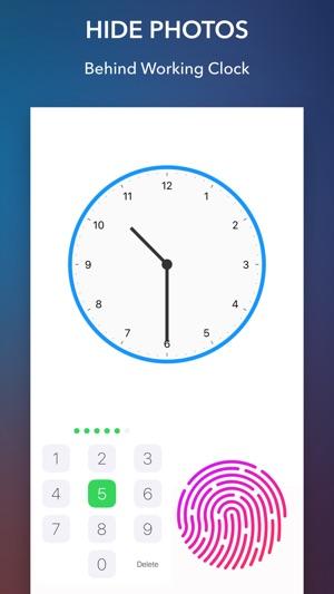 Secret Clock - Hide Photo, Video, GIF Screenshot