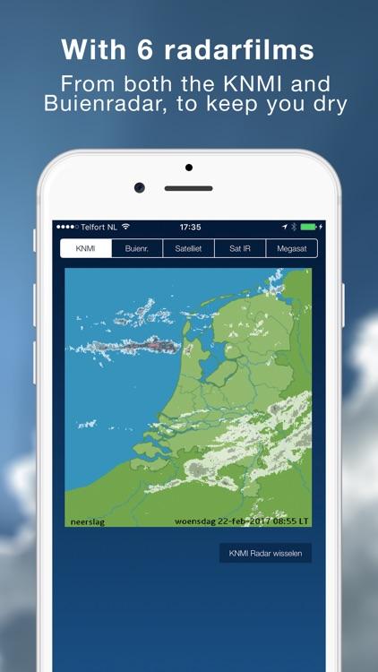 Het Weer in Nederland - Weer screenshot-3