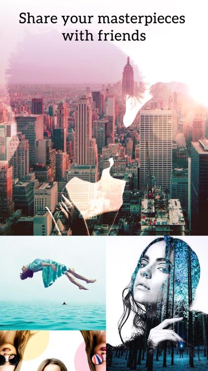 Photo Blender - Double Exposure & SuperImpose Pics screenshot-4
