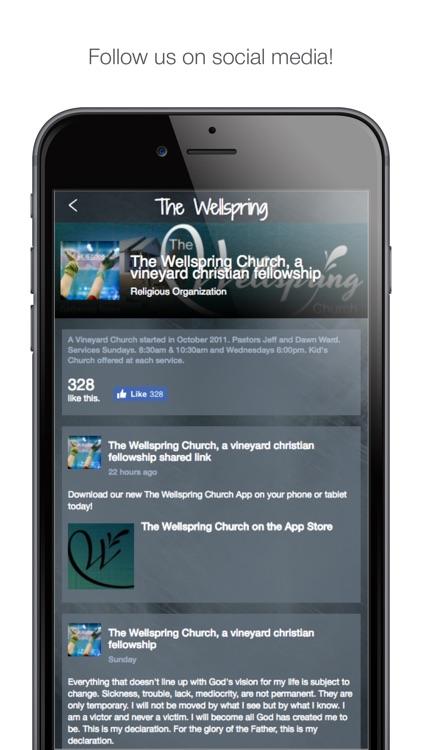 The Wellspring Church app image
