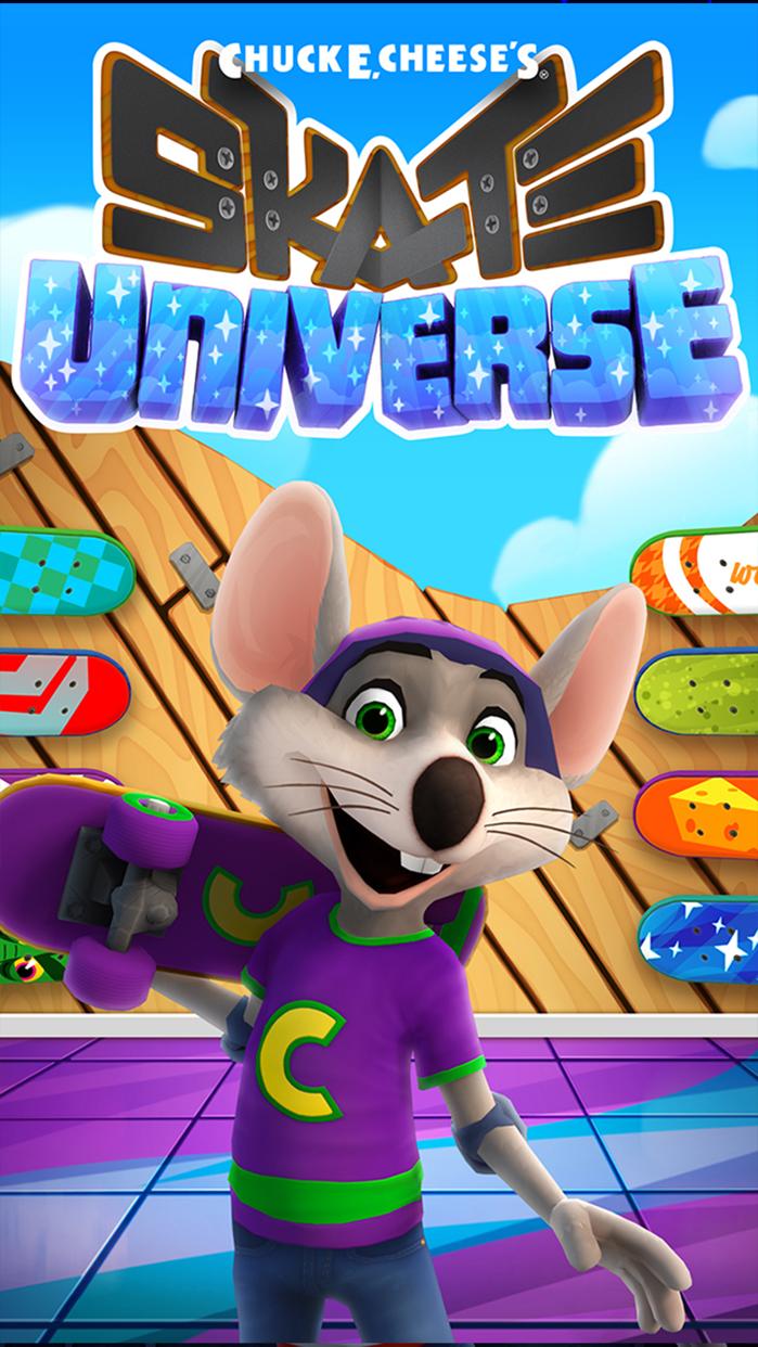 Chuck E. Cheese's Skate Universe Screenshot