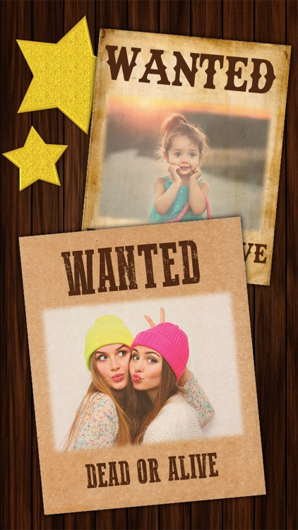 Wanted Poster Maker - Western Style Photo Editor screenshot-4