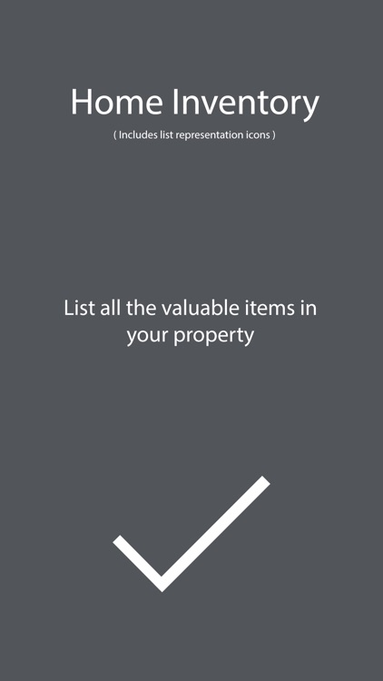 Home Inventory - List tracker of Home Insurance