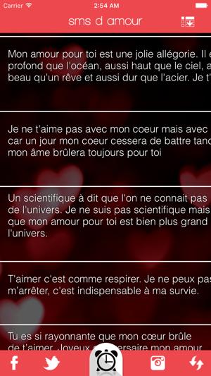 Sms D Amour En App Store