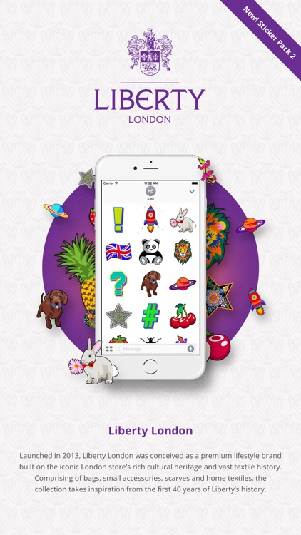 The Official Liberty London Patch it App - Pack 2