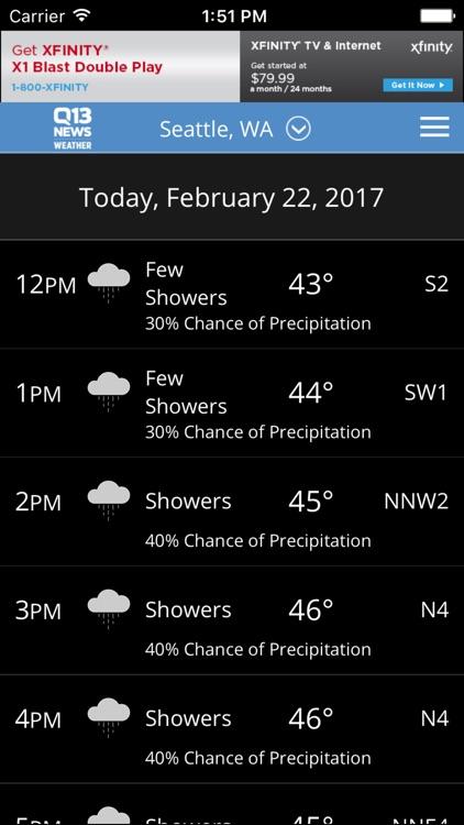 Q13 News - Seattle Weather screenshot-3