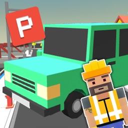 Blocky Car Parking Simulator 3D
