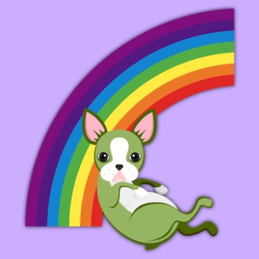Saint Patrick's Day Boston Terrier Emoji Stickers