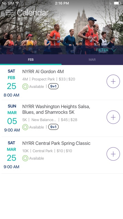 NYRR App screenshot-2
