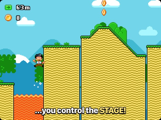 Screenshot #5 for Stagehand: A Reverse Platformer