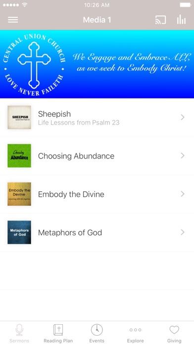 CENTRAL UNION CHURCH - HI screenshot 1