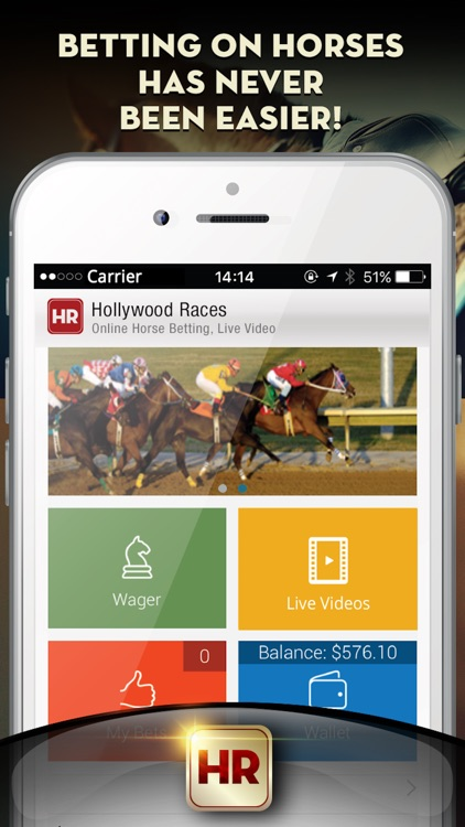 Hollywood Races – Online Horse Betting, Live Video