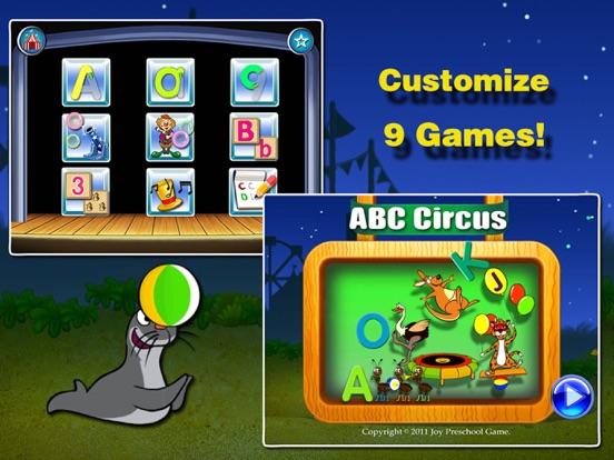 ABC Circus- Alphabet&Number Learning Games kidsのおすすめ画像1