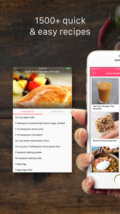 Heart Healthy Recipes, Ingredients & Meal PlansScreenshot of 1
