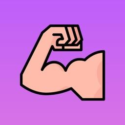 FitnessMoji - Motivational Gym Stickers